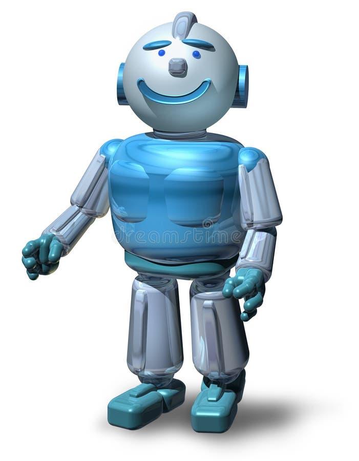 Friendly Robot royalty free illustration