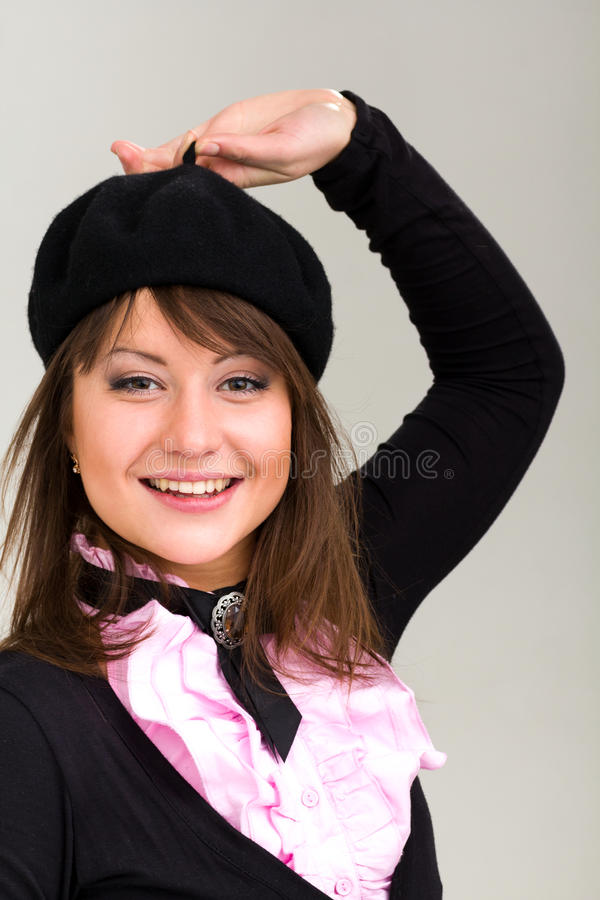 Download Friendly Smiling Young Woman Stock Photo - Image: 26953600