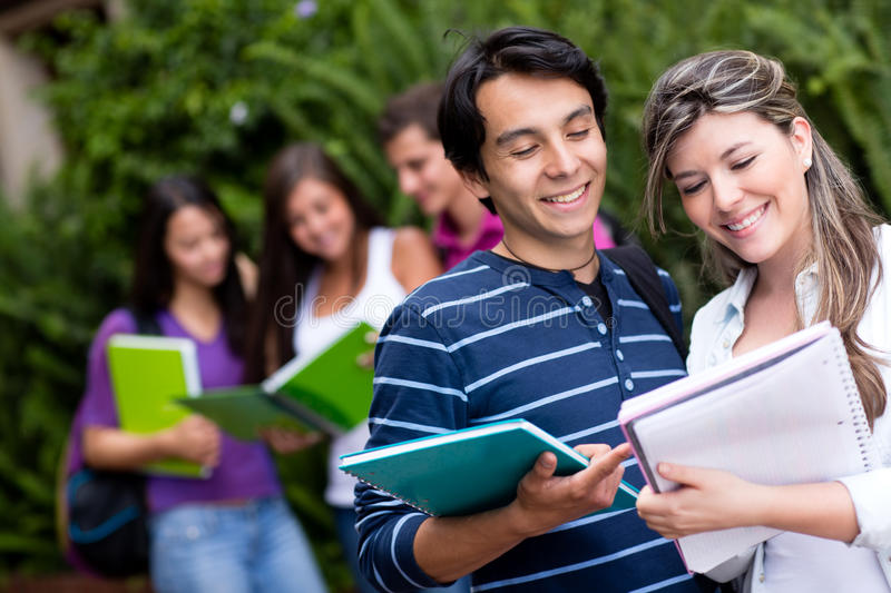 Download Friendly students stock image. Image of lifestyle, people - 25481173