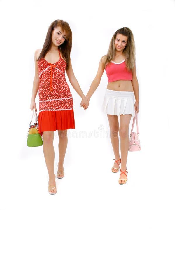 Download Friendly Walk Stock Photo - Image: 1420650