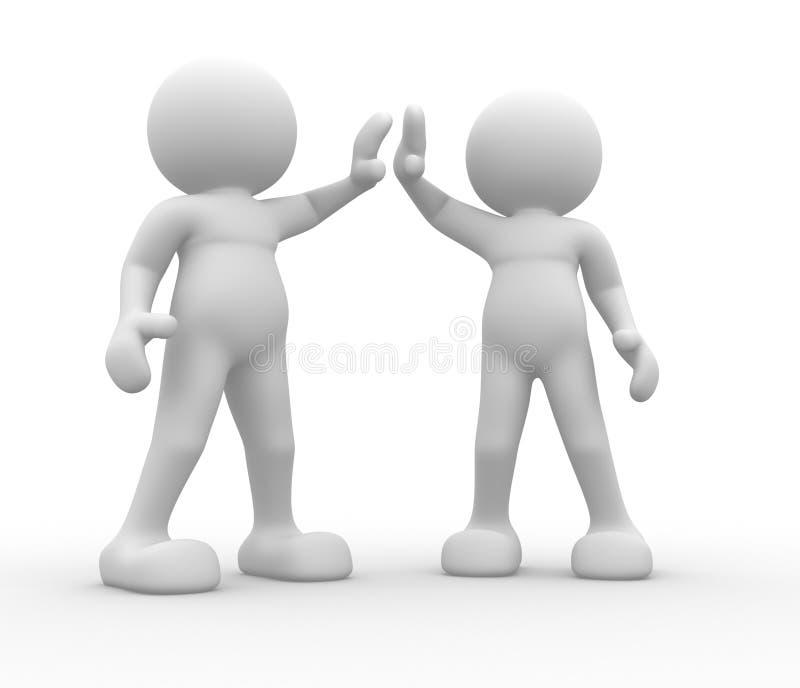 Download Friends stock illustration. Image of handshake, business - 23836318