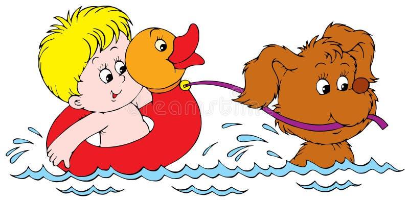 Friends. Vector clip-art /children's book illustration for your design, scrapbook