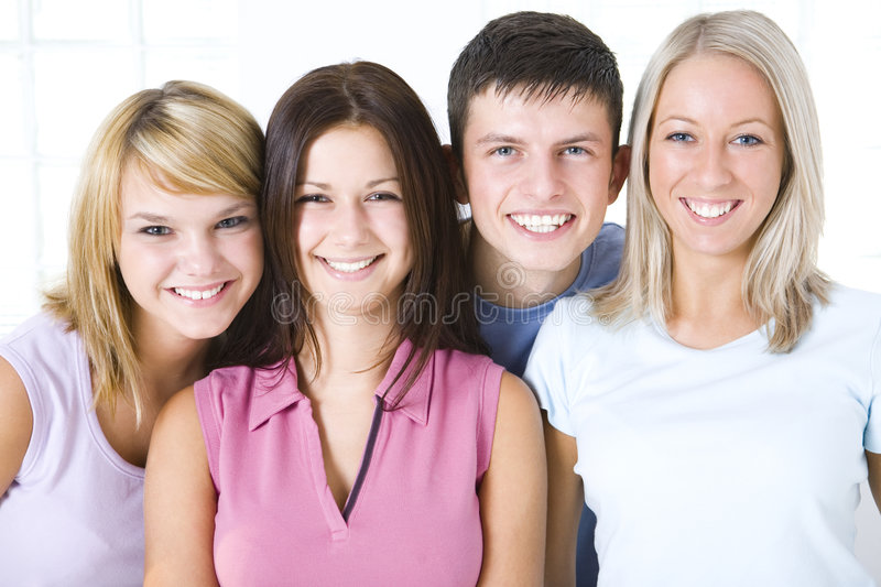 Friends royalty free stock images
