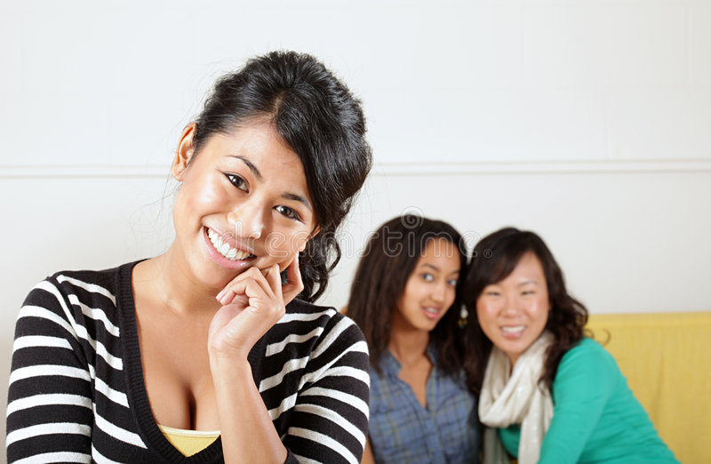Download Friends stock photo. Image of black, expression, funny - 7764394