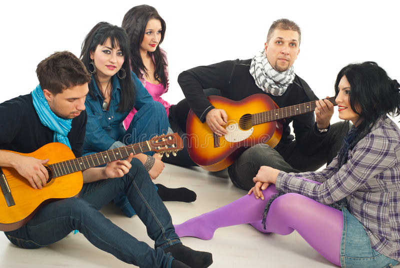 Download Friends Enjoying Time Together Stock Image - Image: 17967243