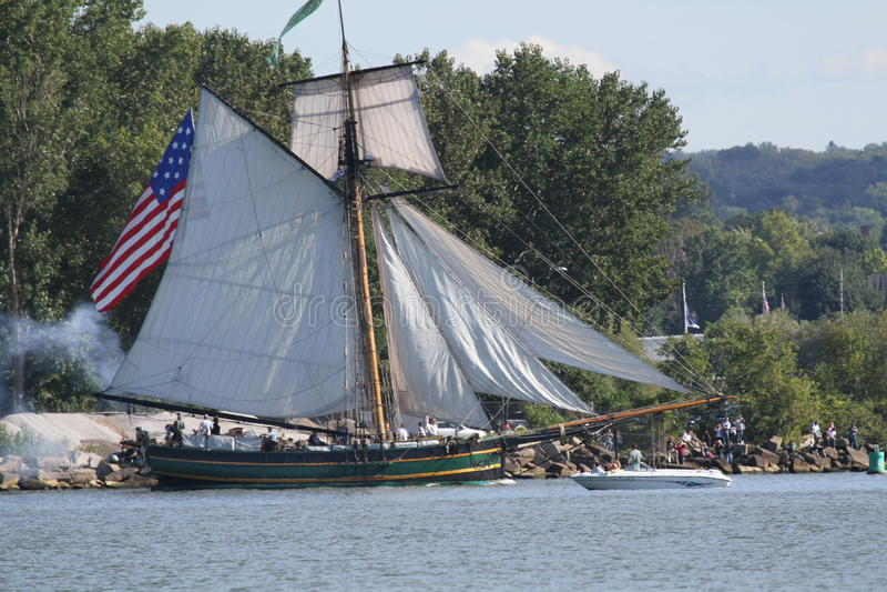 Friends Good Will - Tall Ship Editorial Photo