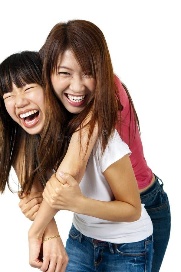 friends happy στοκ εικόνα με δικαίωμα ελεύθερης χρήσης