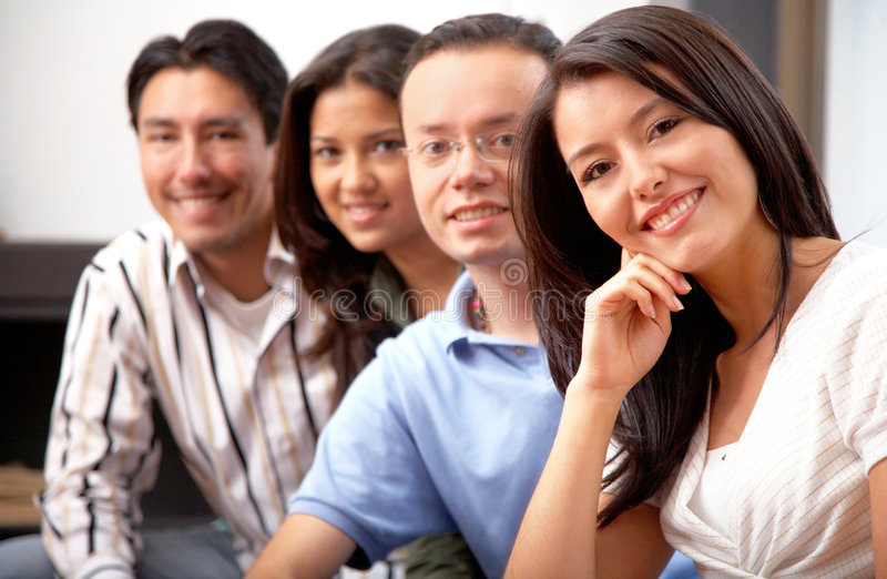 Download Friends at home stock photo. Image of latinas, lifestyle - 4033950