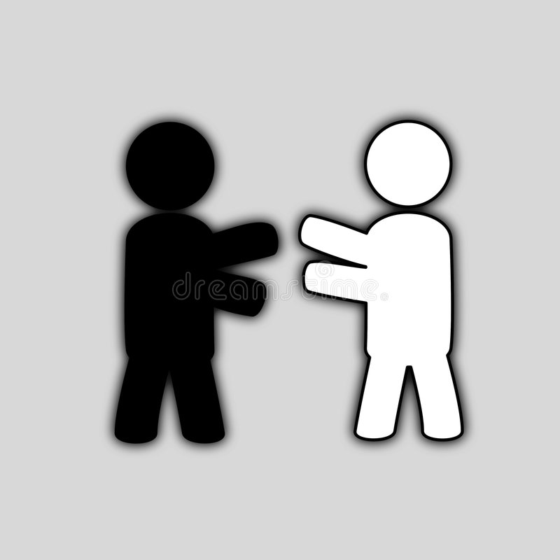 Download Friends icon stock vector. Image of concept, person, black - 8637221