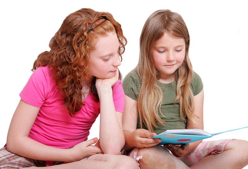 Download Friends Reading Together Stock Photos - Image: 5308083