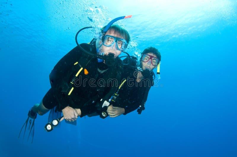 Download Friends Scuba Dive Togeather Stock Image - Image: 24557129