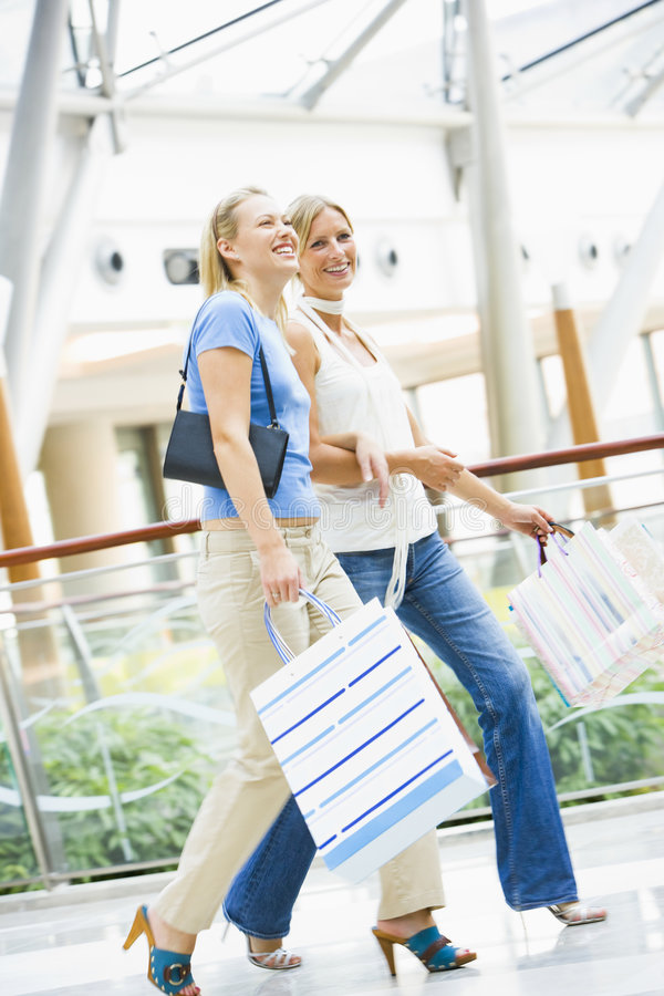 Download Friends shopping in mall stock image. Image of adult, girlfriend - 5092913