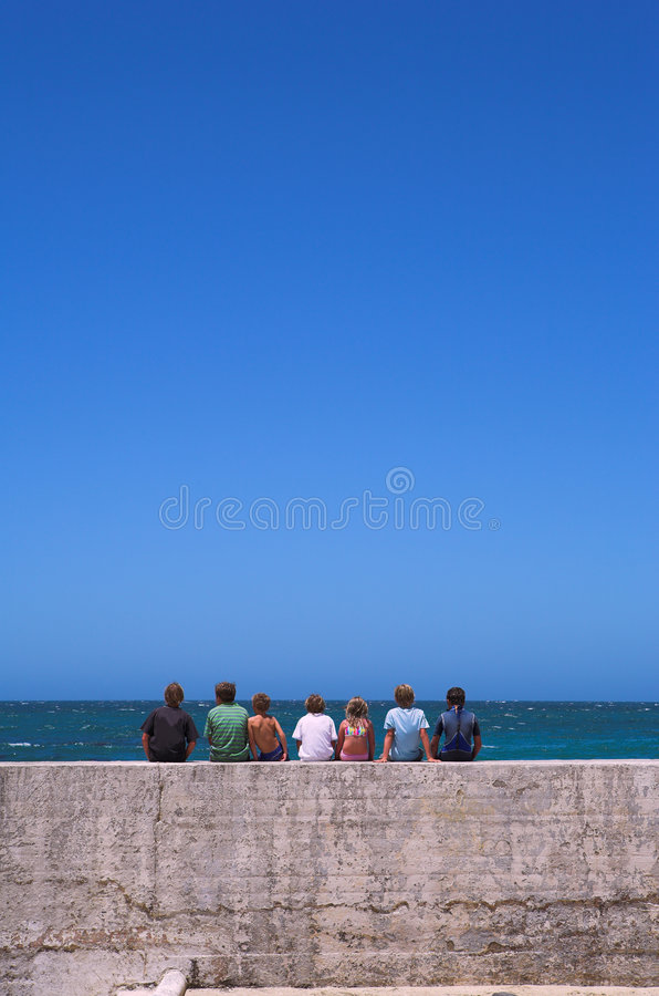Friends together #1 stock photography