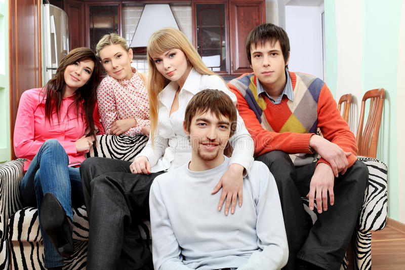 Download Friends together stock photo. Image of confidence, leisure - 13807700