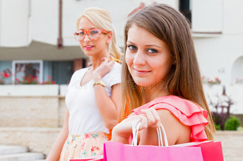 Download Friends Together stock photo. Image of enjoyment, bags - 32345290
