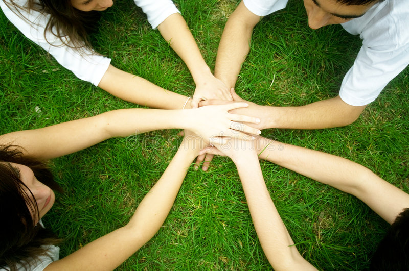 Download Friends United Royalty Free Stock Photos - Image: 9132488
