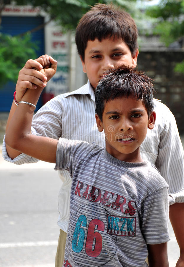 Download Friendship stock photo. Image of shit, children, indian - 21022390