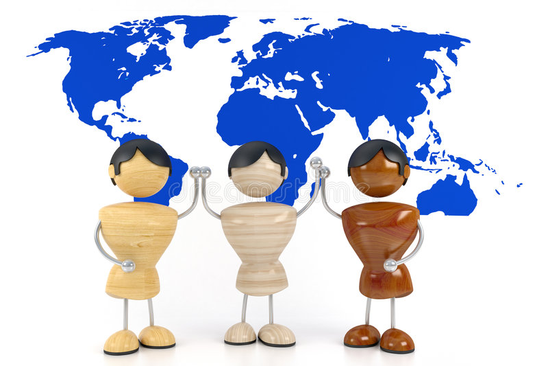 Download Friendship stock illustration. Illustration of throng - 3679883
