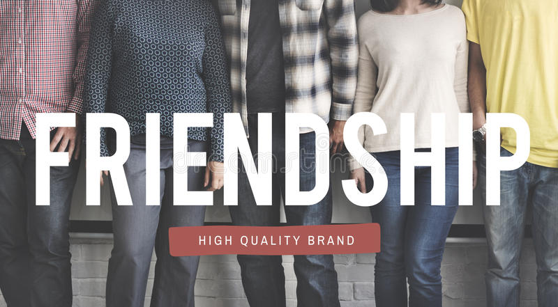 Friendship Bond Happiness Fun Bonding Togetherness Concept. Friendship Bond Happiness Fun Bonding Togetherness royalty free stock photo