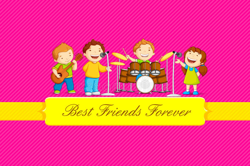 Download Friendship Day stock vector. Image of club, happiness - 32611467