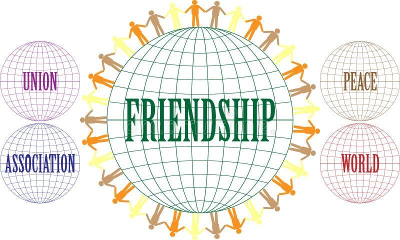 Download Friendship stock vector. Image of graphics, longitude - 38527810