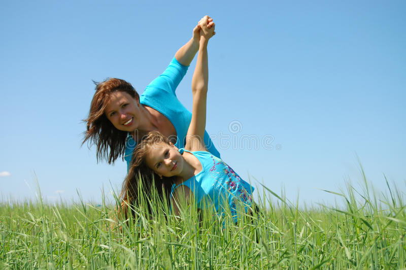 Download Friendship And Happiness Of Mum And Daughter Royalty Free Stock Photo - Image: 9993985