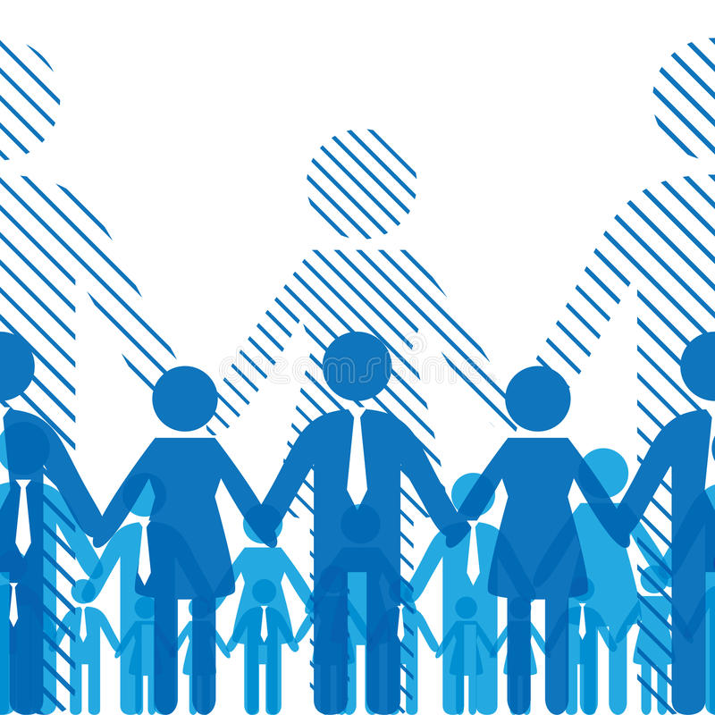 Download Friendship team stock vector. Image of organization, companies - 18610604