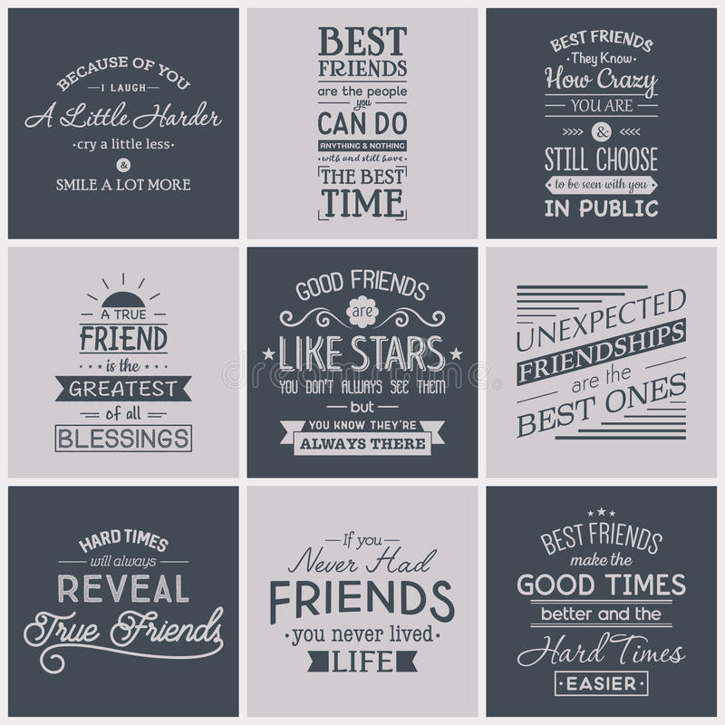friends family quotes stock illustrations friends family