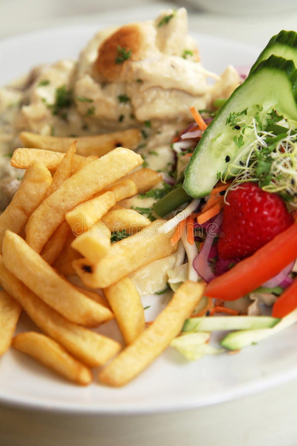 Download Fries dish stock photo. Image of diet, healthy, fries - 21185534