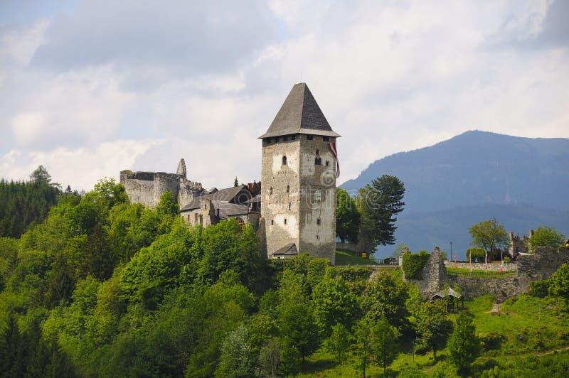 friesach de château photographie stock