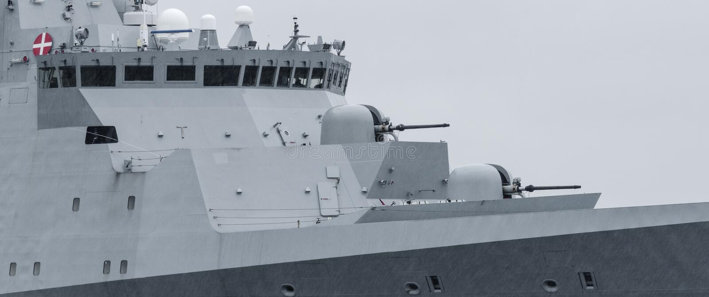 frigate royaltyfri bild