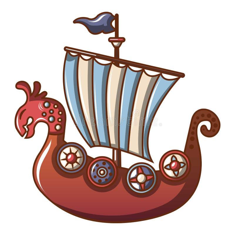 Frigate icon, cartoon style. Frigate icon. Cartoon illustration of frigate vector icon for web vector illustration