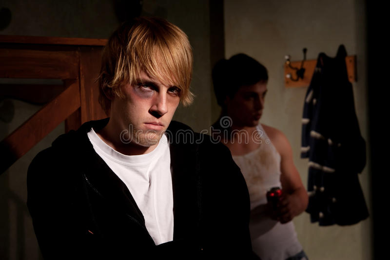 Download Frightened Young Man Stock Image - Image: 13571831