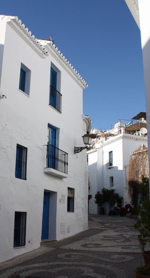frigiliana Ισπανία κτηρίων χωριό στοκ εικόνα