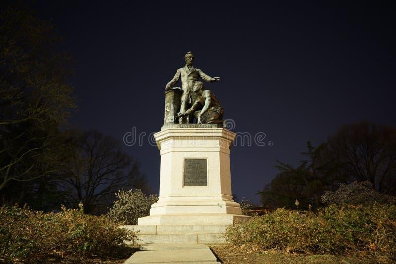 Frigivningminnesmärke - Lincoln Park royaltyfri fotografi