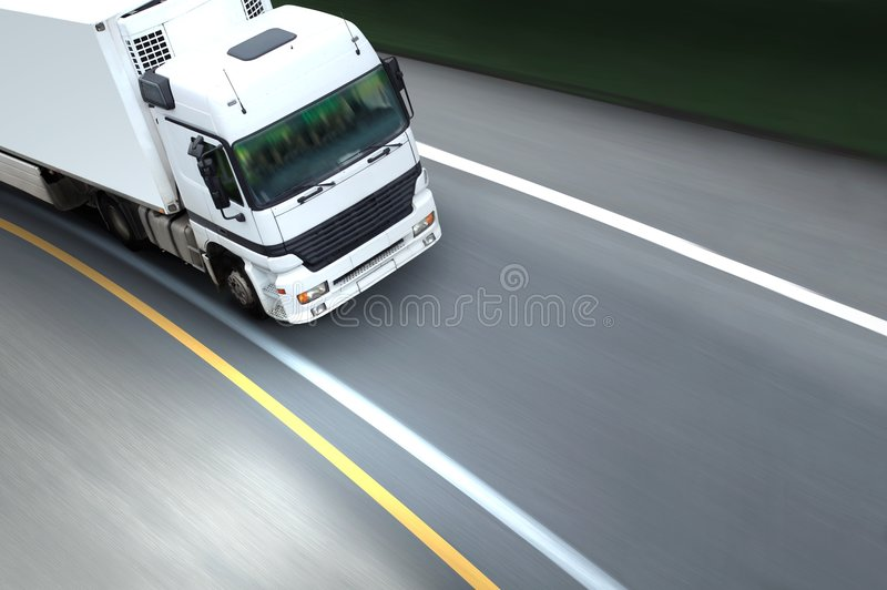 Frigo transport royalty free stock photography