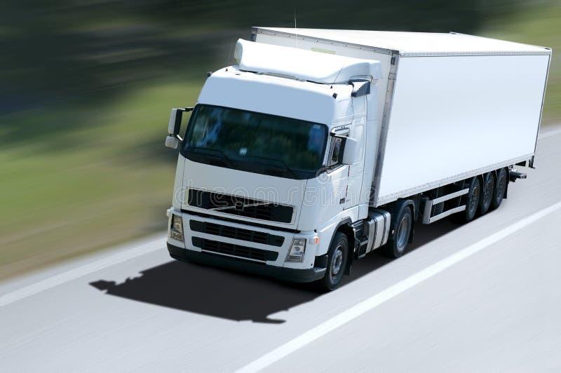 Frigo truck royalty free stock photography