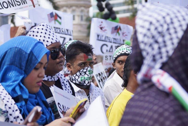 Frihet för GAZA arkivfoto