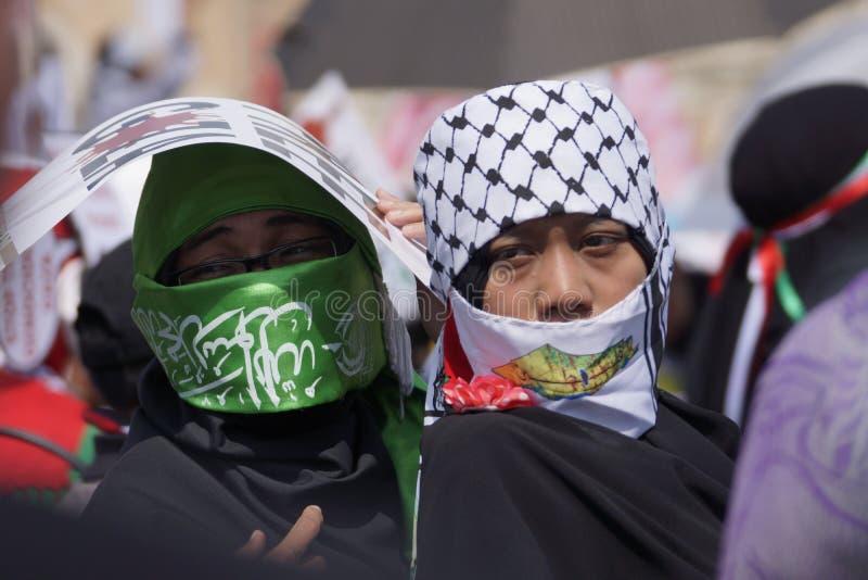 Frihet för GAZA royaltyfri foto