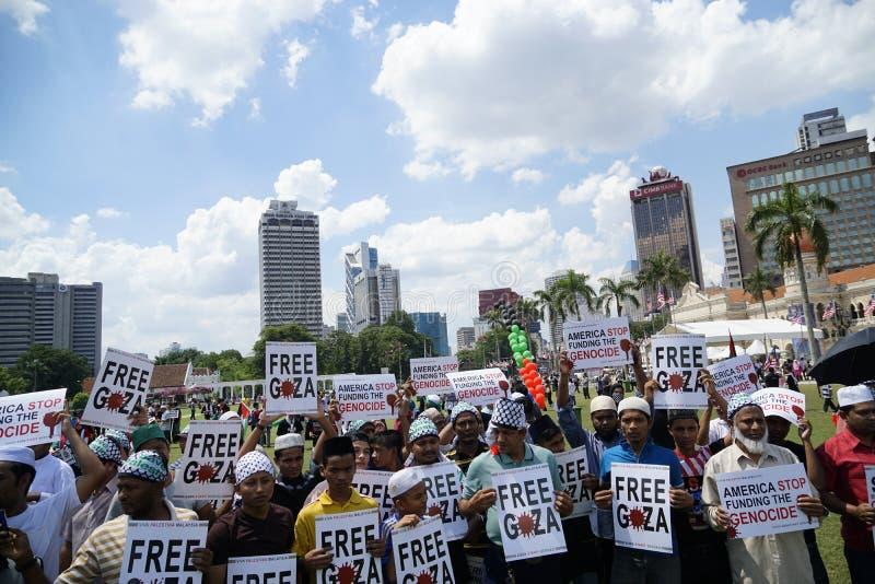Frihet för GAZA royaltyfria bilder