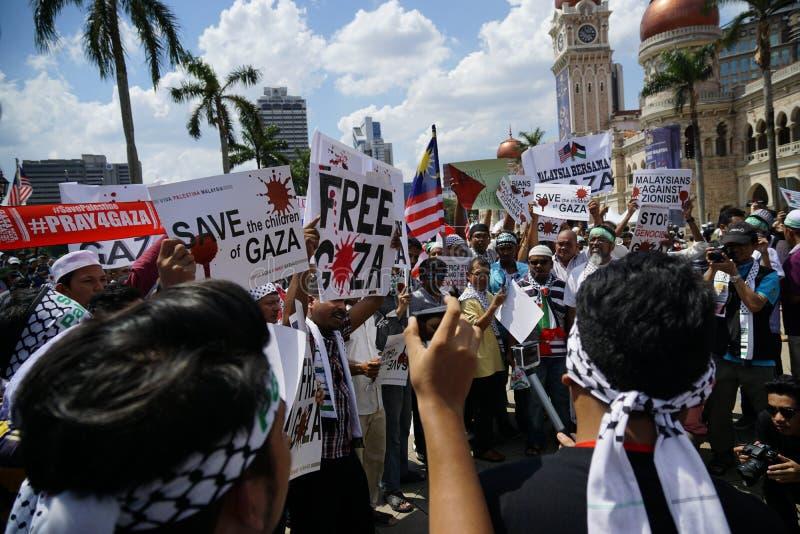 Frihet för GAZA arkivfoton