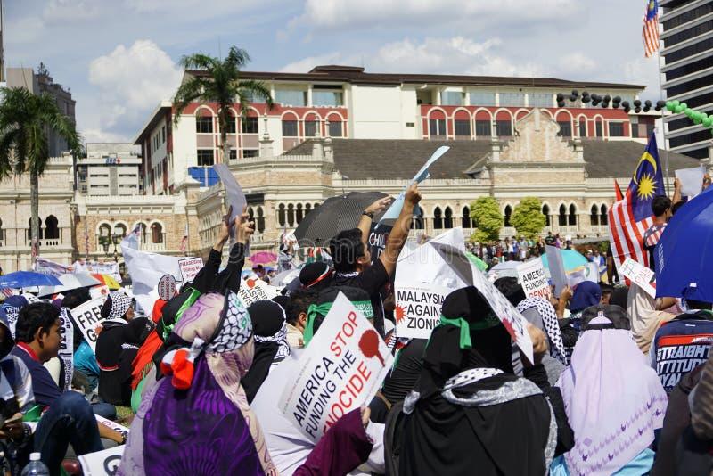 Frihet för GAZA royaltyfria foton