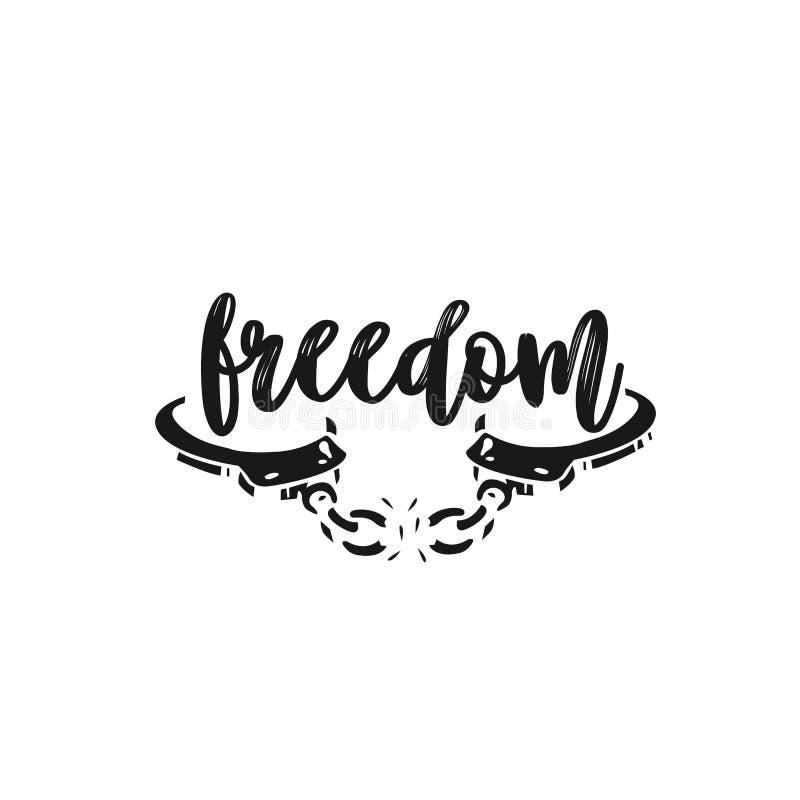 Frihet frihetavbrottsbojor royaltyfri illustrationer