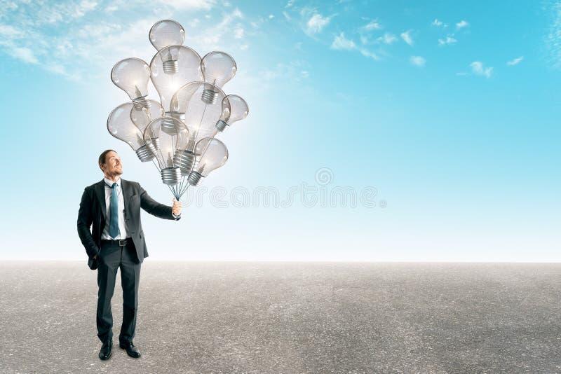 Frihets- och framgångbegrepp fotografering för bildbyråer