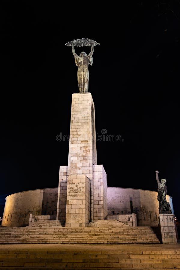 Frihetstaty i Budapest, Ungern royaltyfri bild