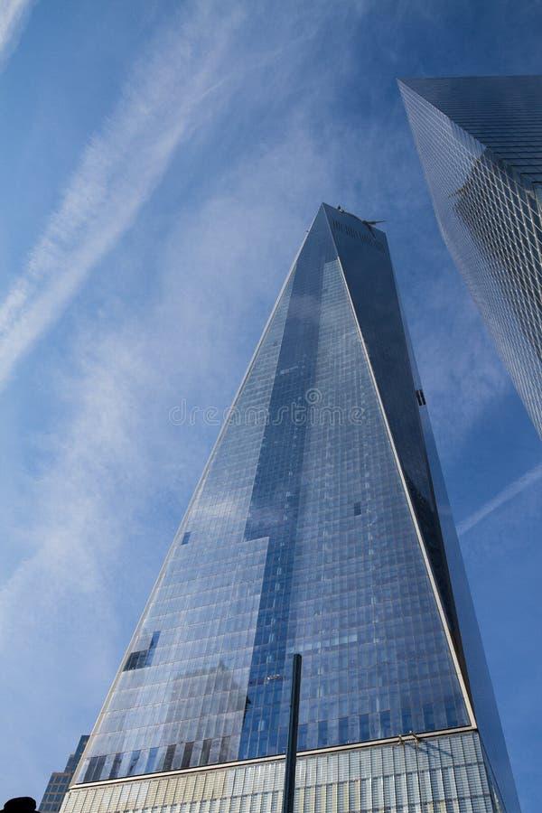 Frihetstorn, NYC royaltyfri bild