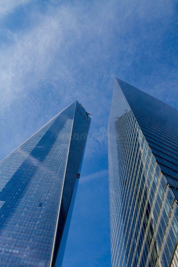 Frihetstorn, NYC fotografering för bildbyråer