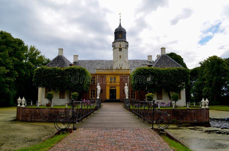 FRIJEMABORG-NEDERLAND arkivbild