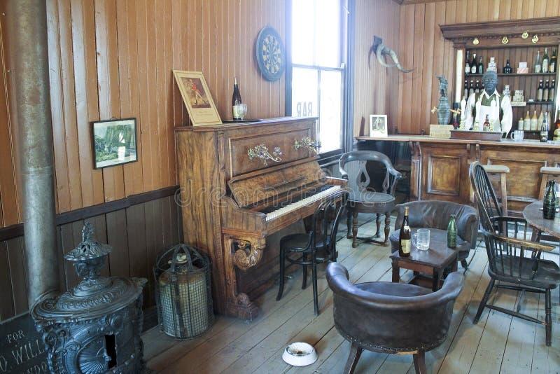 Frilufts- museum av den gamla staden i Kimberly diamantmin royaltyfri foto
