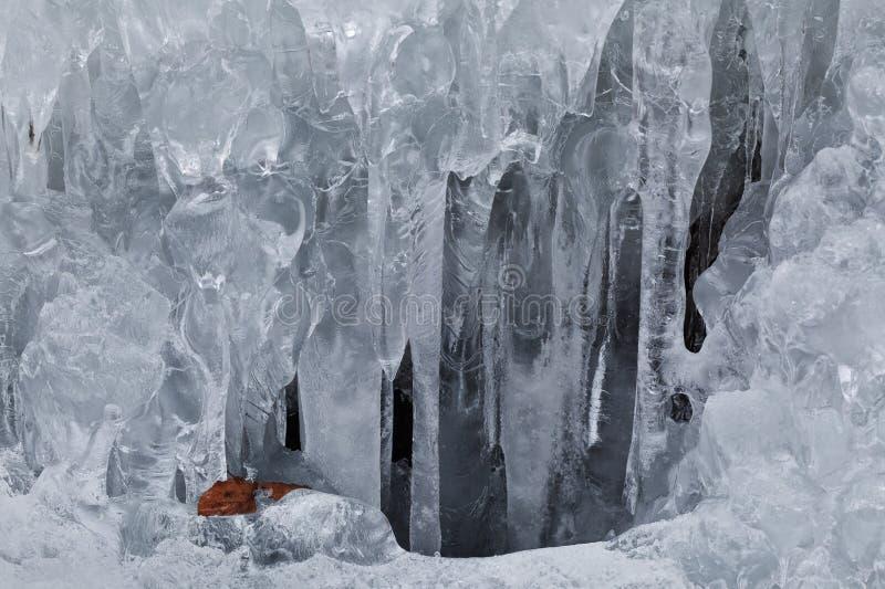 Fringe of ice royalty free stock photography